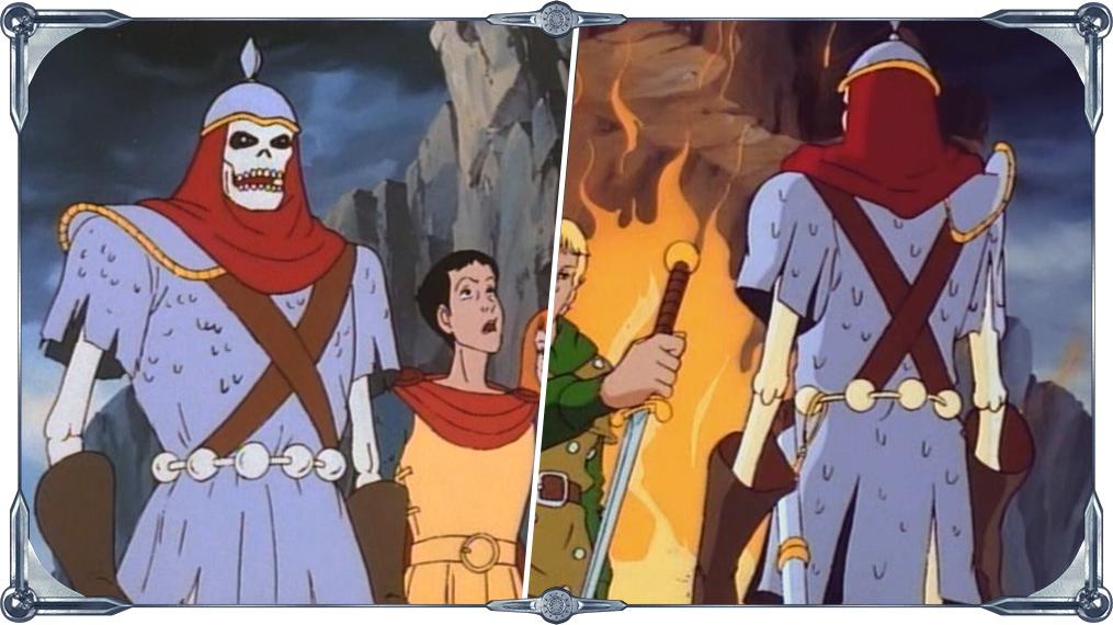 . Ilustração do personagem Dekion, do desenho animado Caverna do ...